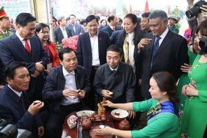Bộ trưởng Bộ NN&PTNT Nguyễn Xuân Cường làm việc tại tỉnh Thái Nguyên