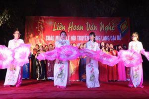 Hà Nội: Tưng bừng khai hội Đình làng Đại Mỗ