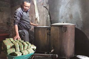 Làng bánh chưng hàng trăm tuổi ở Thái Bình