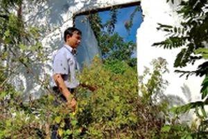 Trụ sở bỏ hoang trở thành điểm gây mất an ninh trật tự và ô nhiễm môi trường
