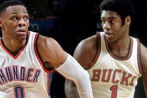 Triple double lại lót đường đưa Westbrook vào lịch sử