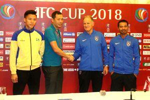 'SLNA quyết chơi hết mình với đội bóng của Malaysia'