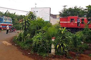 Tìm nguyên nhân vụ hai tàu hỏa suýt đâm nhau ở Đồng Nai