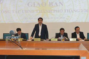 Chủ tịch Nguyễn Đức Chung: Cán bộ, công chức, viên chức bắt tay ngay vào công việc sau Tết