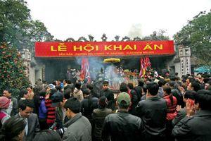 Khắc phục hiện tượng 'đưa tiền lấy ấn' tại lễ hội Đền Trần