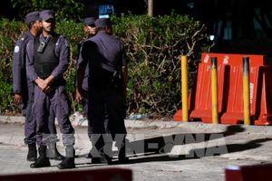 Cảnh sát Maldives ban bố lệnh giới nghiêm