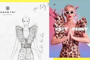 Katy Perry lại chọn trang phục của NTK Nguyễn Công Trí trong campaign mới