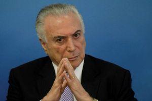 Can thiệp nghi án tổng thống tham nhũng, 'sếp' cảnh sát Brazil bị phản ứng