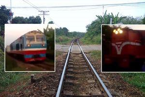 Chỉ còn 10 m là xảy ra thảm họa 2 xe lửa tông nhau