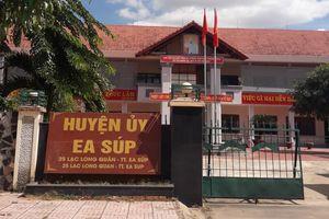 Kỷ luật Trưởng ban Tổ chức huyện ủy vì tham mưu bổ nhiệm người thân