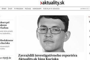 Slovakia rúng động vì nhà báo chuyên viết phóng sự điều tra bị sát hại