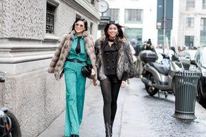 Doanh nhân Thủy Tiên và con gái sành điệu tại Tuần lễ thời trang Milan