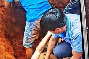 Sụt móng xây nhà, một người tử vong và hai người bị thương