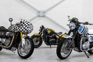 Lạ mắt với 'bộ ba siêu đẳng' đến từ Triumph Motorcycles