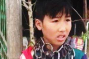 Sự thật về clip cháu bé bị 'xích cổ' ở Thanh Hóa