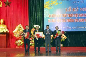 Trung tâm Y tế Q. Hải Châu đón nhận Huân chương Lao động hạng Nhì
