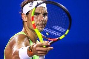 Tái phát chấn thương, Nadal chia tay Mexico Open 2018
