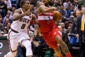 NBA 2017-18, Washington 107-104 Milwaukee: Thất bại từ những phút đầu tiên