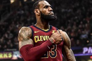 Tiêu điểm NBA ngày 28/2: King James sáng rực cả 'bầu trời' NBA