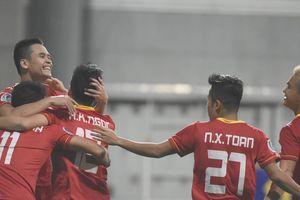 SLNA 2-0 Johor Darul: Văn Đức, Xuân Mạnh cùng lập công giúp SLNA lên ngôi đầu