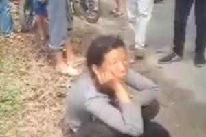 Người phụ nữ lạc đường bị nghi nhầm đang thôi miên trên đường