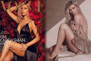 Gợi cảm quyến rũ, Kim Kardashian bị chỉ trích khi lên bìa Vogue Ấn Độ