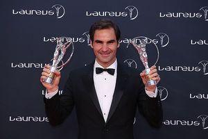 Federer đoạt cú đúp giải thưởng ở 'Oscar thể thao'
