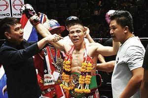 Võ sỹ muay Việt Nam giành đai WBC danh giá ngay trên đất Thái
