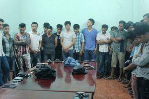 Khởi tố 17 đối tượng tham gia vụ hỗn chiến đêm 30 Tết ở Đồng Nai
