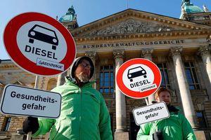 Tòa hành chính tối cao Đức phán quyết các thành phố có thể cấm xe chạy diesel