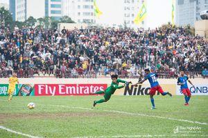 Cận cảnh các cầu thủ Sông Lam Nghệ An đánh bại đội mạnh Malaysia