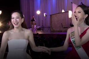 Clip: Hương Giang trò chuyện tiếng Anh cực trôi chảy với 'đệ nhất mỹ nhân' Thái