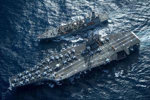 Sức mạnh của siêu tàu sân bay hạt nhân USS Carl Vinson