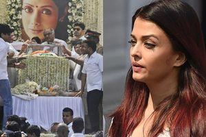 Nghệ sĩ và hàng nghìn người dự tang lễ minh tinh Ấn Độ