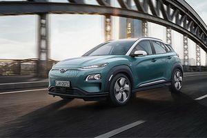 Hyundai Kona chạy hoàn toàn bằng điện chính thức ra mắt