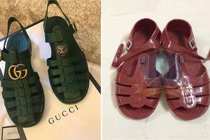 Xôn xao mẫu sandal mới của Gucci 'giống hệt đôi dép rọ của Việt Nam'