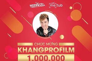 'Ông vua Youtube Việt' Lâm Chấn Khang là ca sỹ thứ 2 sau Sơn Tùng đạt nút vàng danh giá
