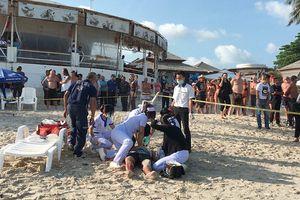 Thái Lan: Đấu súng trên bãi biển, du khách nháo nhào bỏ chạy