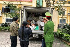 Hà Tĩnh: Phát hiện gần 1 tấn mỡ bẩn đang tuồn ra miền Bắc