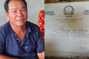 Đề nghị thu hồi giấy báo tử với 'liệt sĩ' trở về sau 33 năm