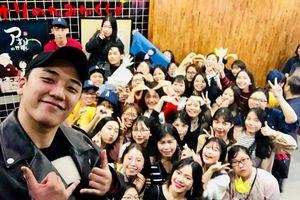 Seungri (Big Bang) bất ngờ xuất hiện chớp nhoáng ở Hà Nội
