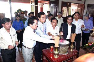 Quảng Ngãi: Dâng hương tưởng niệm cố Thủ tướng Phạm Văn Đồng