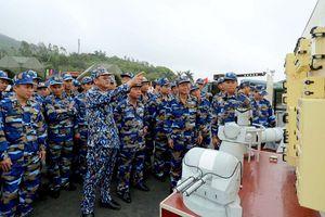 Vùng 3 Hải quân ra quân huấn luyện năm 2018