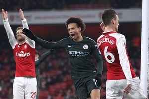 Chơi bạc nhược, Arsenal thảm bại trước Man City