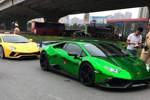 Siêu xe triệu đô bị Cảnh sát giao thông Hà Nội 'tóm gọn'