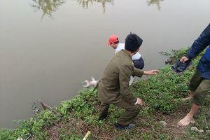 Hà Nam: Phát hiện thi thể bé sơ sinh nổi trên mương nước