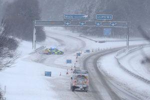 Hệ thống giao thông Vương quốc Anh hỗn loạn do tuyết rơi dày