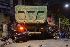 Tài xế xe ben gây tai nạn kinh hoàng ở TPHCM bị tạm giữ
