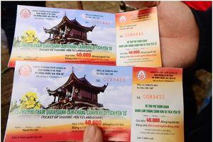 Thu phí tham quan chùa thiêng Yên Tử có đúng luật?