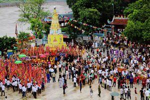 Sẽ có nghi thức thực hành tín ngưỡng thờ Mẫu Tứ phủ tại Lễ hội Đền Cô